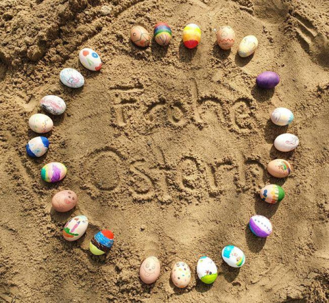 Die Kieselsteine wünschen Frohe Ostern