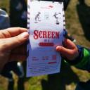 Zirkusticket Screen as a stage