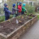 Gartenprojekt April 21