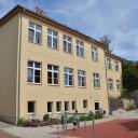 Schulhof in Lobeda
